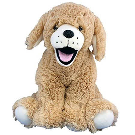Cuddly Soft 16 inch Stuffed Golden Retriever Puppy - We stuff