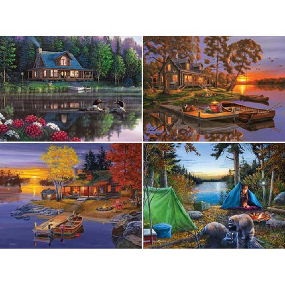 The Great Outdoors Puzzle Assortment Pack (4 - 500 Piece)