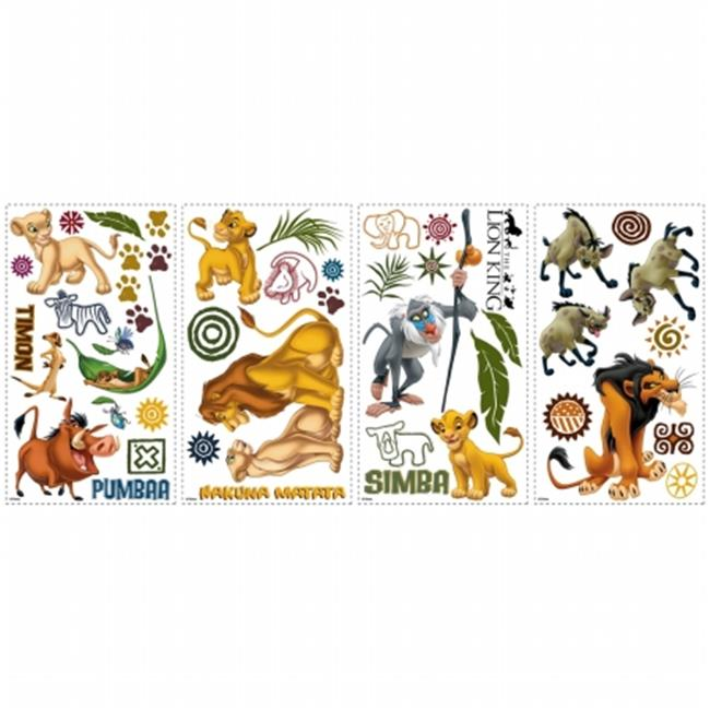 RoomMates RMK1921SCS The Lion King Peel & Stick Wall Decals