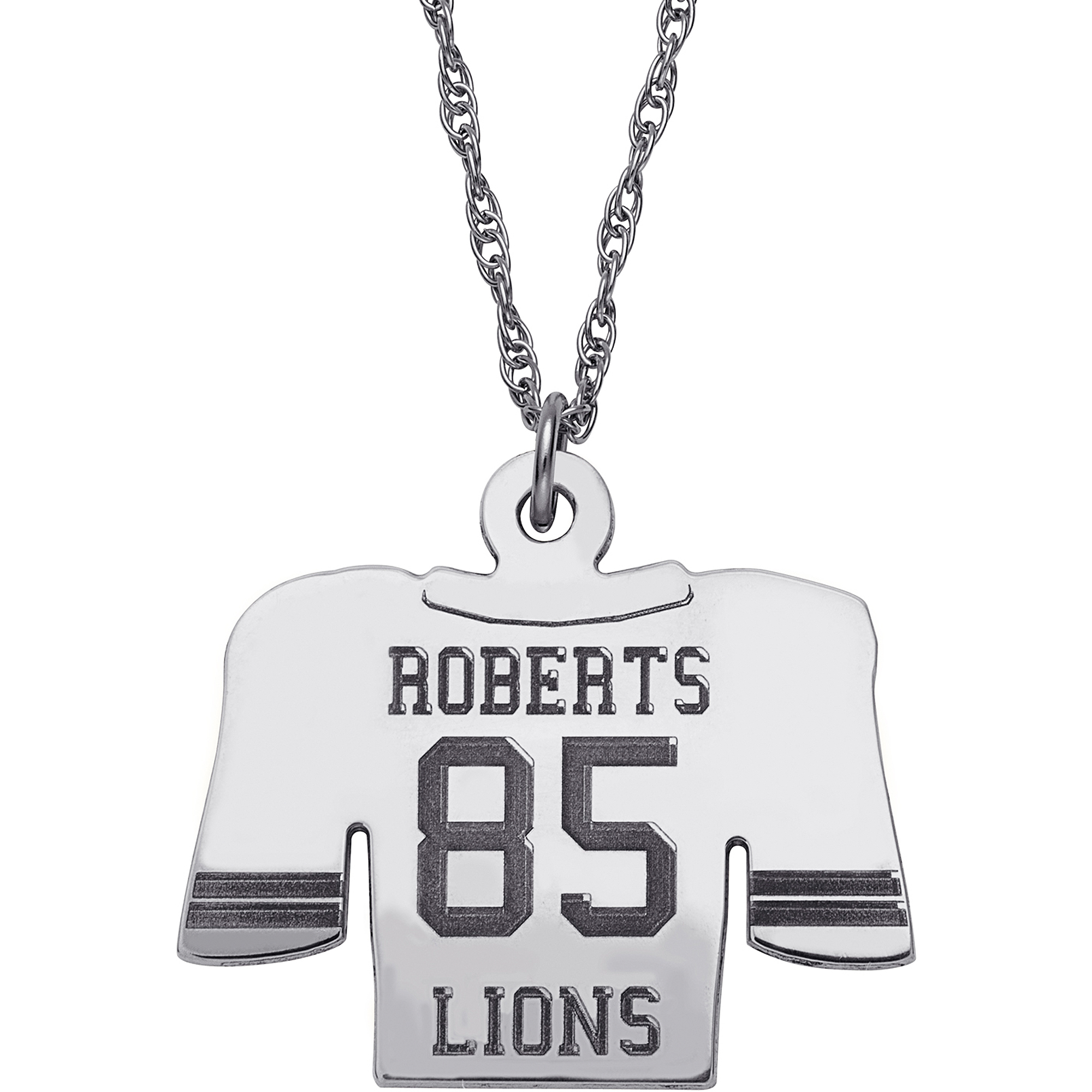 necklaces gold number plated name pendant football sports necklace namefactory