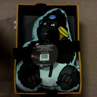 Overwatch Winston Kids Children Toddler Throw Pillow with Decorative Box