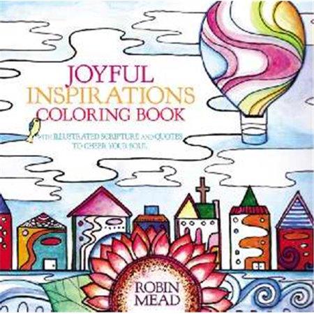 FaithWords-Hachette Book Group 066408 Joyful Inspirations Adult Coloring Book - image 1 of 1