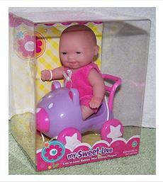 My Sweet Love Lots To Cuddle Mini Doll Walmart Com