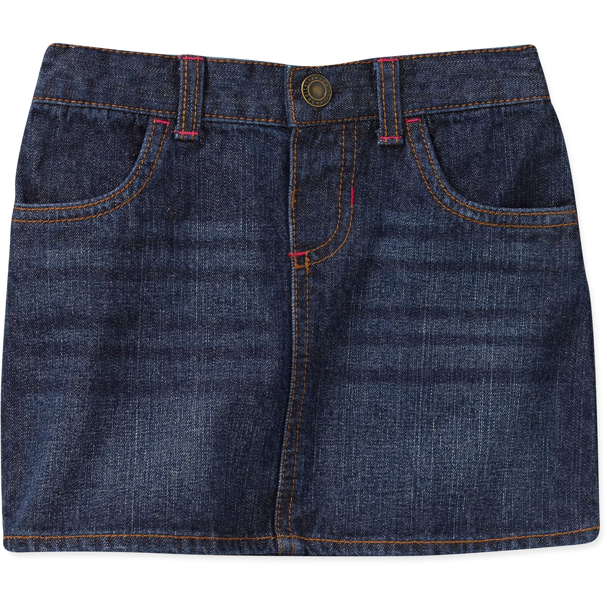 healthtex baby toddler denim skirt walmart