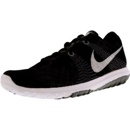 Nike Womens Flex Fury Black/White/Wolf Grey/Cl Grey Running Shoe Women