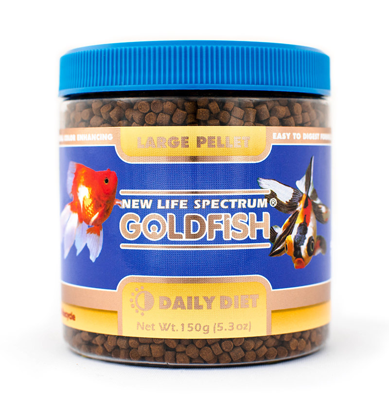 New Life Spectrum Goldfish Daily Diet Fish Food Pellets for Large Fish, 150 g
