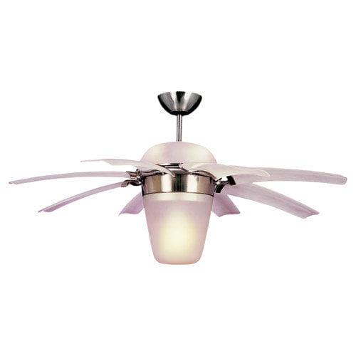 Airlift 44-Inch Brushed Steel Ceiling Fan by Monte Carlo Fan Company