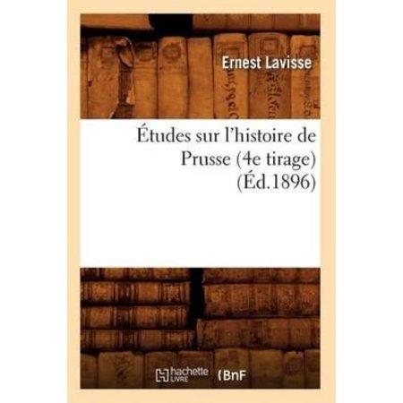 Etudes Sur L'Histoire de Prusse (4e Tirage) (Ed.1896) - image 1 of 1
