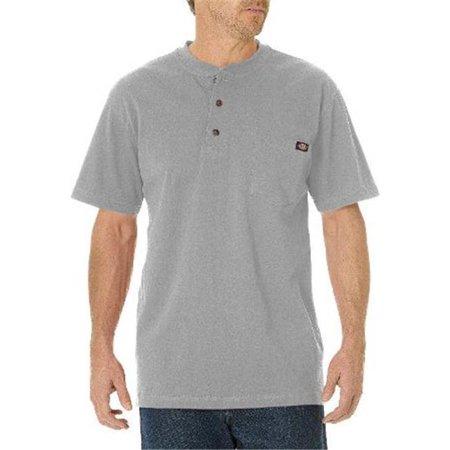 Dickies mens big tall heavyweight short sleeve henley tee for Dickies big tex shirt