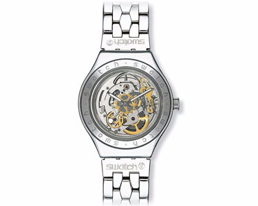 Swatch Body and Soul Metal Mens Watch Stainless Steel by Swatch