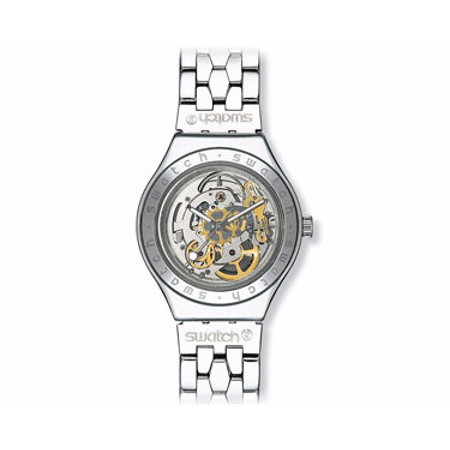 Swatch Body and Soul Metal Mens Watch - Stainless Steel