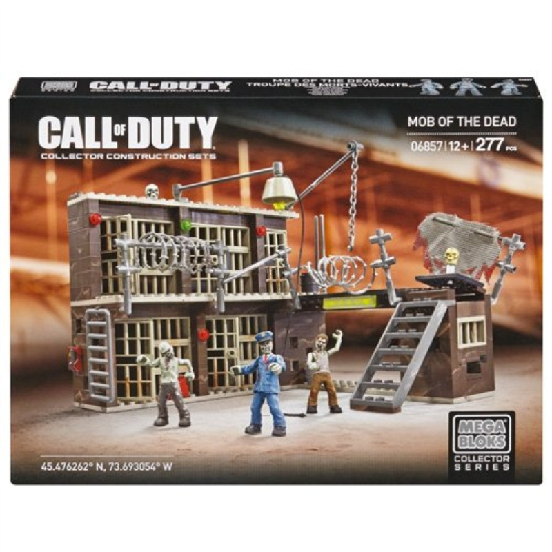 Mega Bloks Call Of Duty Mob of the Dead Alcatraz by Mattel