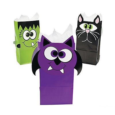 Halloween Character Treat Bags 2 dozen