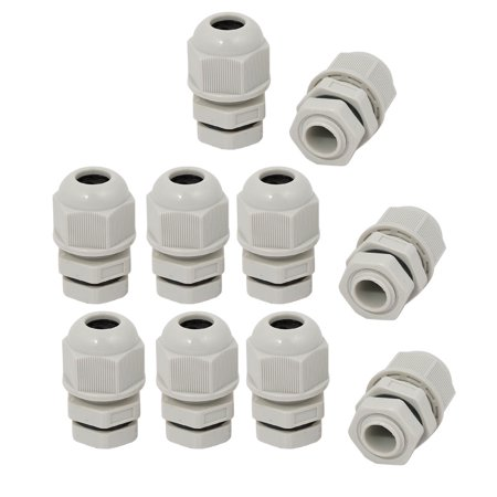 - Unique Bargains 10pcs PG7 Nylon 4 Hole Cable Gland Connector Joint for 3mm-6.5mm Wire Range
