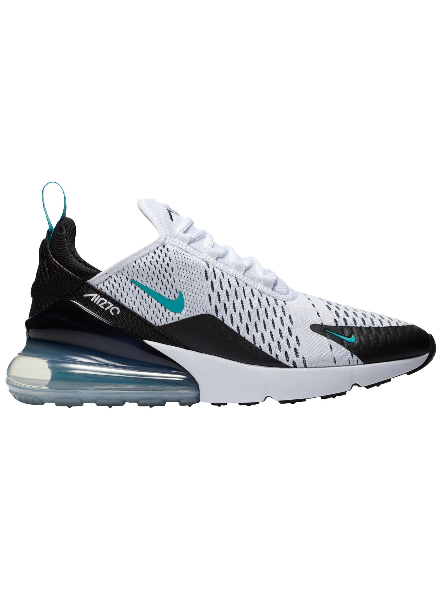 Nike Air Max 270 Men's Running Shoes Black White Dusty Cactus by
