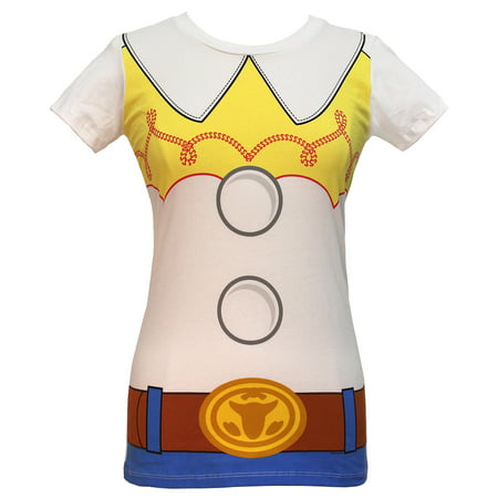 Cartoon Character Costume Ideas Adults (Disney I am Jessie Toy Story Juniors' Costume)