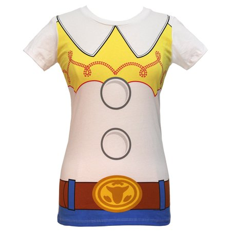 Disney I am Jessie Toy Story Juniors' Costume T-shirt](Jessie Toy Story Halloween Costume Adults)