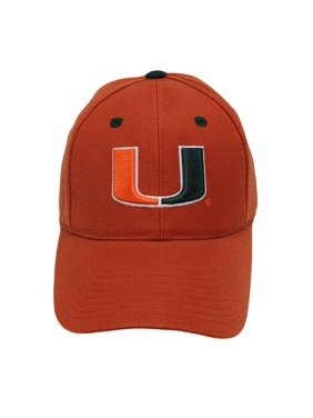 innovative design 90169 5ace8 Product Image Top of the World Men s Miami Hurricanes Embroidered Cap One  Size Fitted 7 1 2