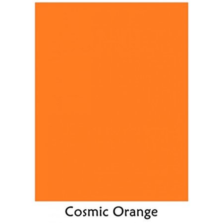 Cosmic Orange - Neenah Astrobrights Premium Color Card Stock,Size 8.5 x 11, 65 Lb - 50 Sheets