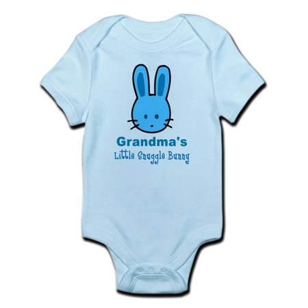 Bunny Infant Bodysuit - CafePress - Grandma's Snuggle Bunny (Boy) Infant Bodysuit - Baby Light Bodysuit