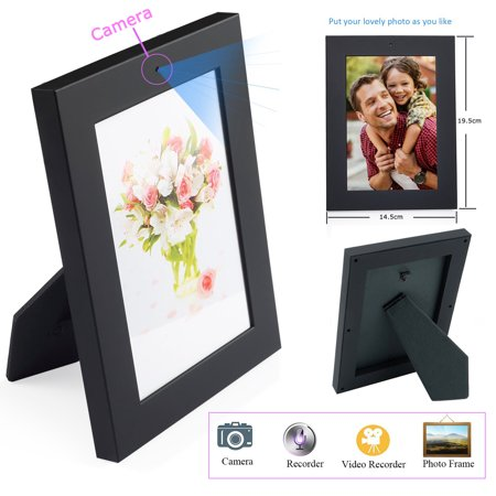 Photo Frame Hidden Spy Camera Safe Home Guard Hd Recorder Camcorder