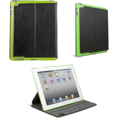 iFrogz Summit Universal Cover for the new iPad - Black with Green