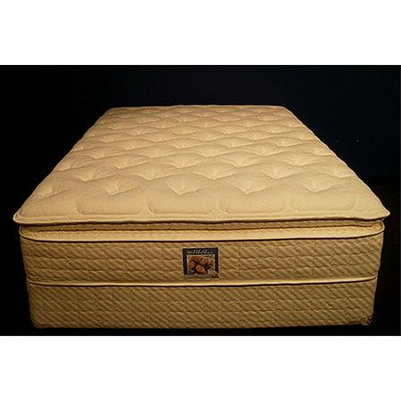 Serta Marvelous Rest Mattress Set Latex Super Pillow Top