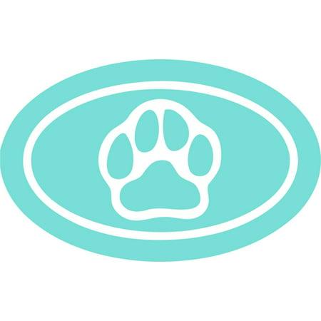 Custom Wall Decal Cat Dog Paw Print Animal Symbol - Vinyl Wall Sticker : 6 X 12