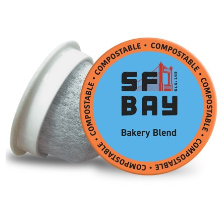 SF Bay Coffee OneCup, Bakery Blend (24 Count) Single Serve Coffee K-Cup Pods Keurig Compatible, Commercially (San Francisco Chocolate Store San Francisco Ca)