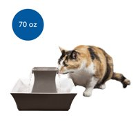 PetSafe Drinkwell Pagoda Ceramic Dog and Cat Water Fountain, 70 oz.