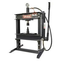 Dake Corporation 972200 10 t Hydraulic Press, Manual Pump