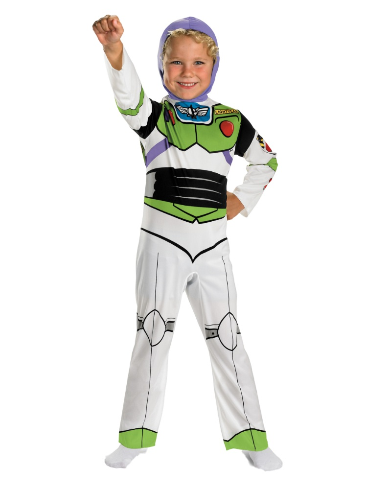 Disney Toy Story Boys Buzz Lightyear Costume Space Ranger Jumpsuit Small 4-6 by Disguise