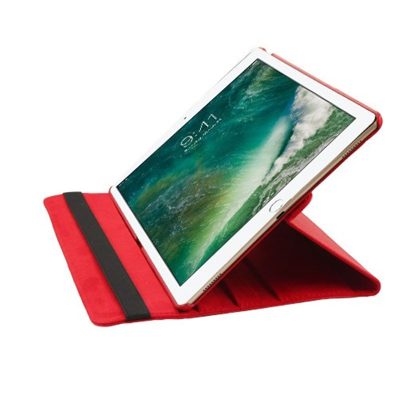 """Apple iPad Pro 12.9"""" Case, by Insten MyJacket Stand Folio Flip Leather Case Cover For Apple iPad Pro 12.9"""", Red - image 2 of 5"""