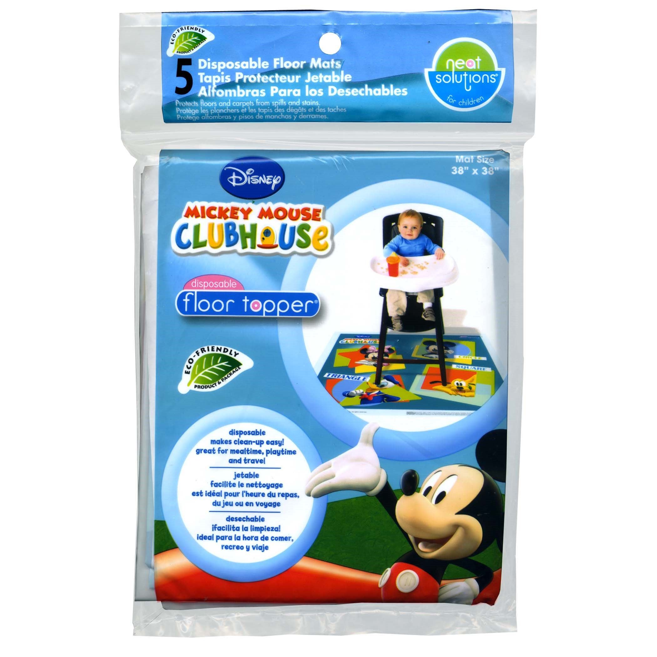 Disney Mickey Mouse Floor Topper - 5 Ct
