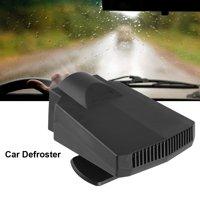 WALFRONT Portable Car Heater 12V 250W Car Windshield Window Defroster Ceramic Heater Cooler Fan, Window Defroster, Car Demister