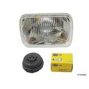 HELLA 003427861 190 x 132mm Series 60/55 Watt 12-36V Heavy Duty H4 Type Single High/Low Beam Headlamp Kit