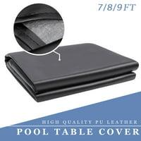 7/8/9FT Heavy Duty Leatherette Billiard Pool Table Cover Billiard Table Covers Waterproof