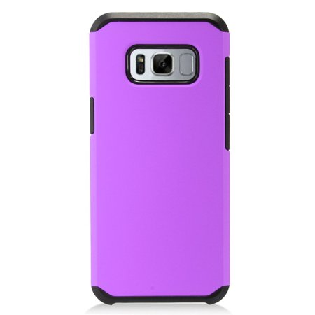 Samsung Galaxy S8 Plus Case, Samsung Galaxy S8+ Case, by Insten Dual Layer [Shock Absorbing] Hybrid Hard Snap-in Case Phone Cover For Samsung Galaxy S8 Plus (Best Case For Samsung Galaxy S8)
