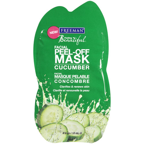 Freeman Feeling Beautiful Cucumber Peel Off Clarifying Mask, .5 oz