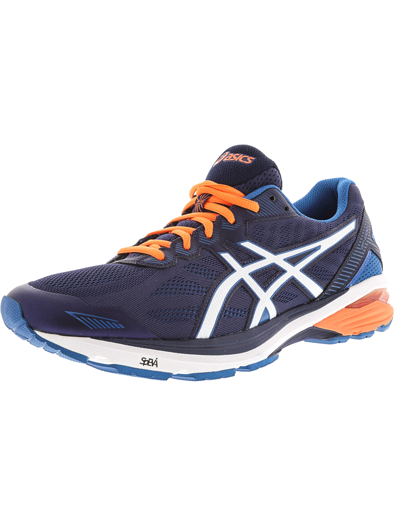 ASICS Asics Men's Gt 1000 5 Indigo Blue Snow Hot Orange Ankle High Running Shoe 7M