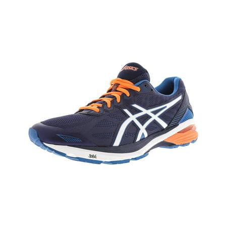 ASICS - Asics Men s Gt-1000 5 Indigo Blue   Snow Hot Orange Ankle-High  Running Shoe - 9M - Walmart.com 0c91b16435