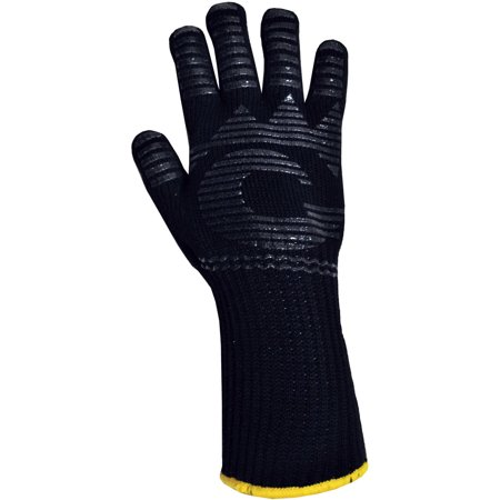 G & F Heat-Resistant Fireplace and Barbecue Pit Mitt ()