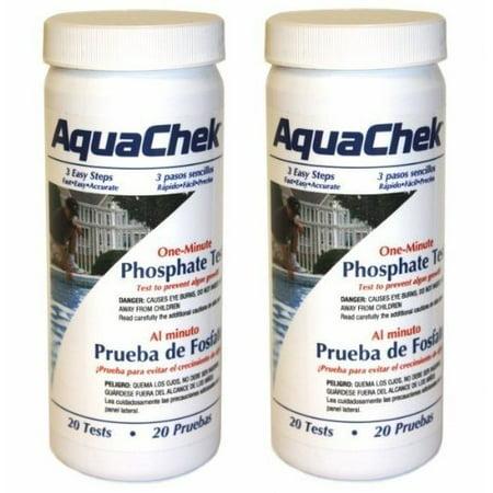 - 2 PACK - Aquachek one minute Phosphate Pool & Spa Test - 562227