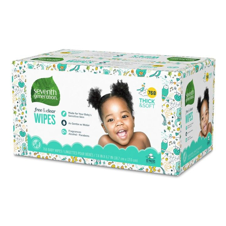 EMPTY NEW HUGGIES BABY WIPES CONTAINER WITH POP-UP LID GREEN SPRINGTIME DESIGN