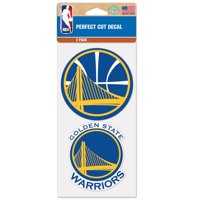 "Golden State Warriors WinCraft 2-Pack 4"" x 4"" Decals Car Stickers - No Size"