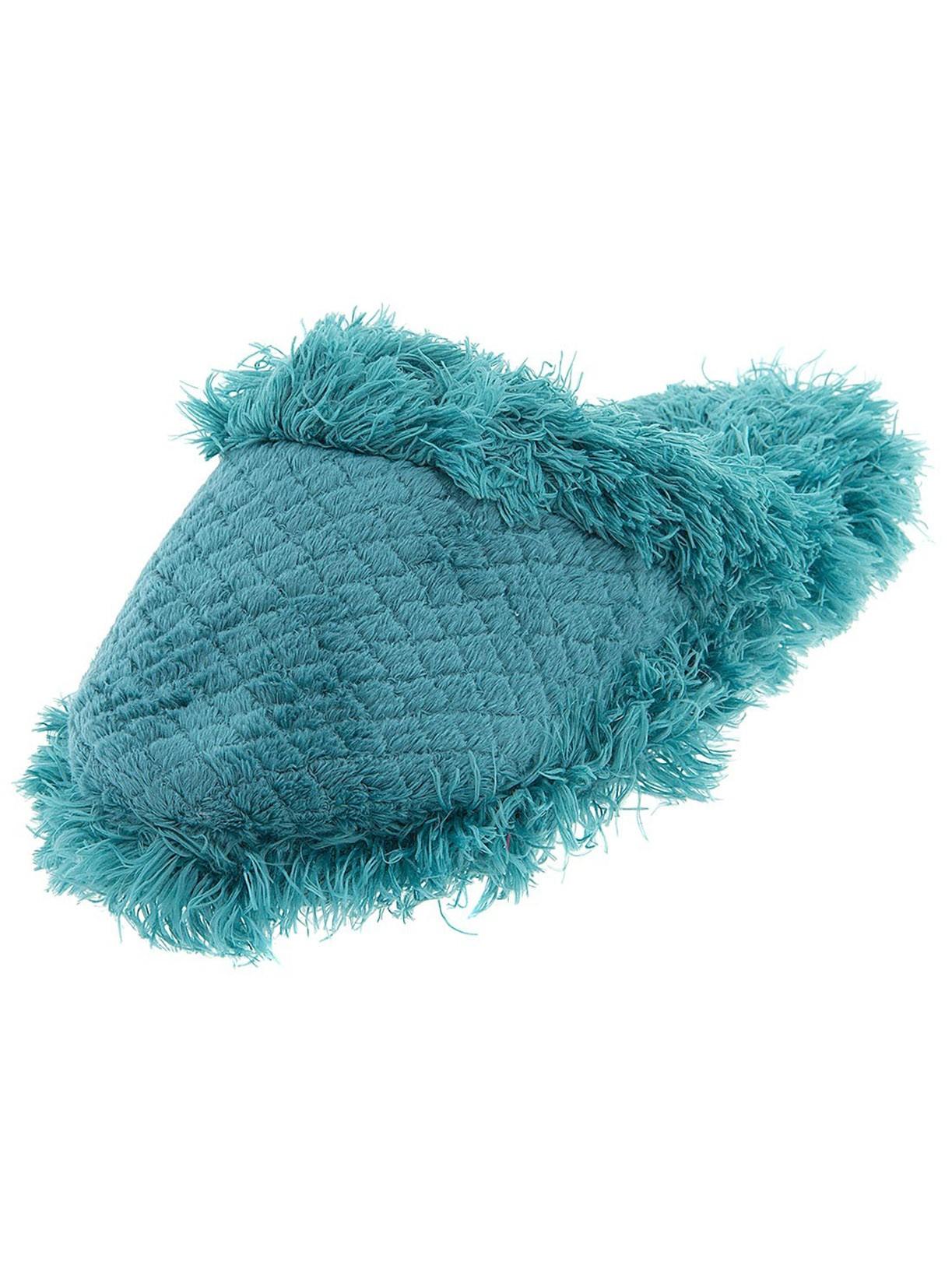 Green A2 by Aerosoles Fuzzy Women's Slippers by