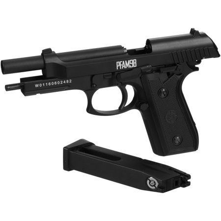 Crosman 177 Caliber Full Auto CO2 Blowback Air Pistol PFAM9B