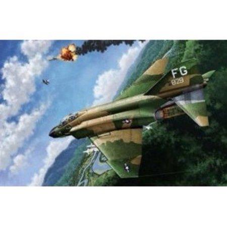 ACA12294 1:48 Academy F-4C Phantom IIVietnam War MODEL KIT Multi-Colored