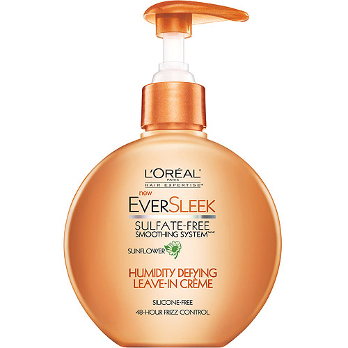 L'Oreal Paris EverSleek Sulfate Free Humidity Defying Leave-In Creme