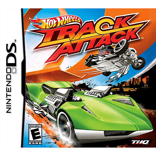 Hot Wheels Track Attack with BONUS * 5 Color Stylus Pens (DS)